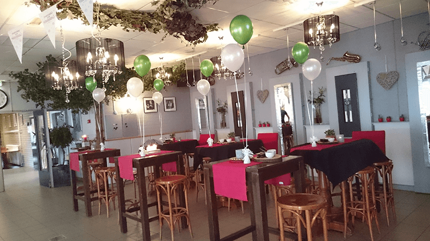 IDecco ballon ballonnen helium heliumtrosjes decoratie aankleding professioneel betaalbaar goedkoop budget heliumballonnen 4