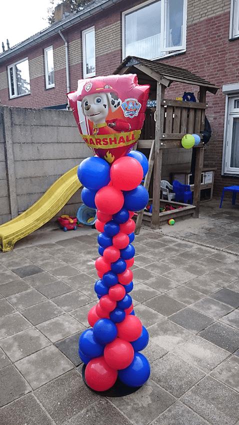 IDecco ballondecoratie helmond ballonnen ballon feest verjaardag 4