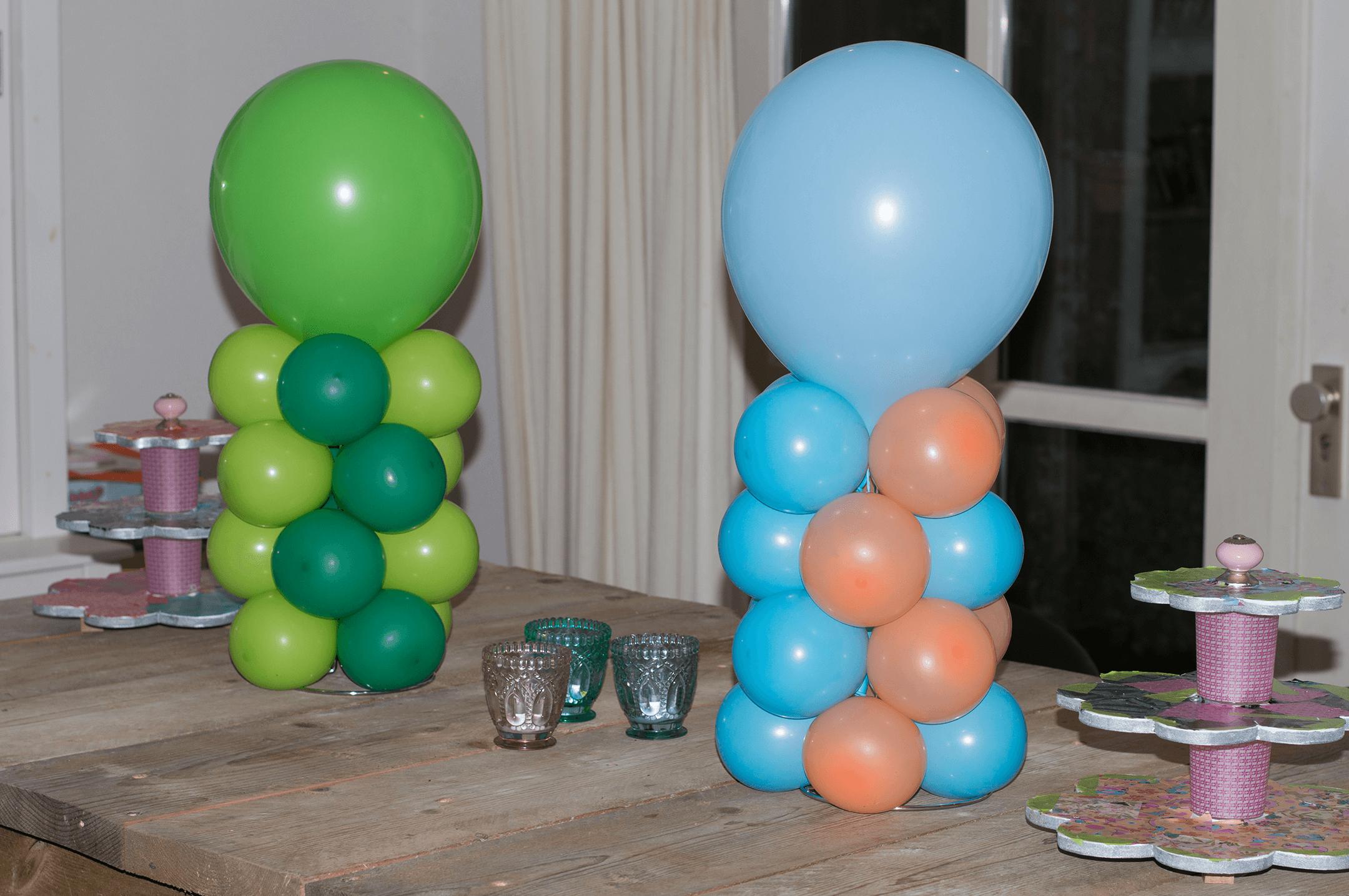 Idecco betaalbare ballondecoratie helmond for Ballonnen versiering zelf maken
