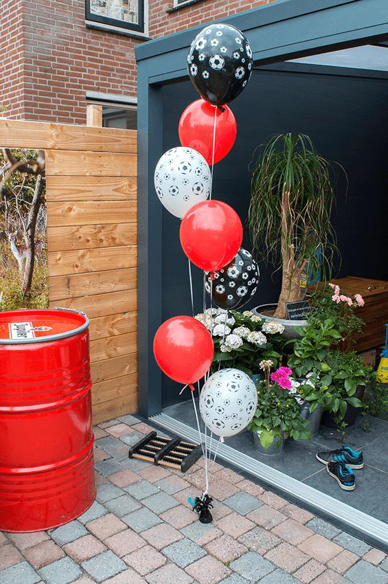 IDecco ballon ballonnen helium heliumtrosjes decoratie aankleding professioneel betaalbaar goedkoop budget heliumballonnen 11