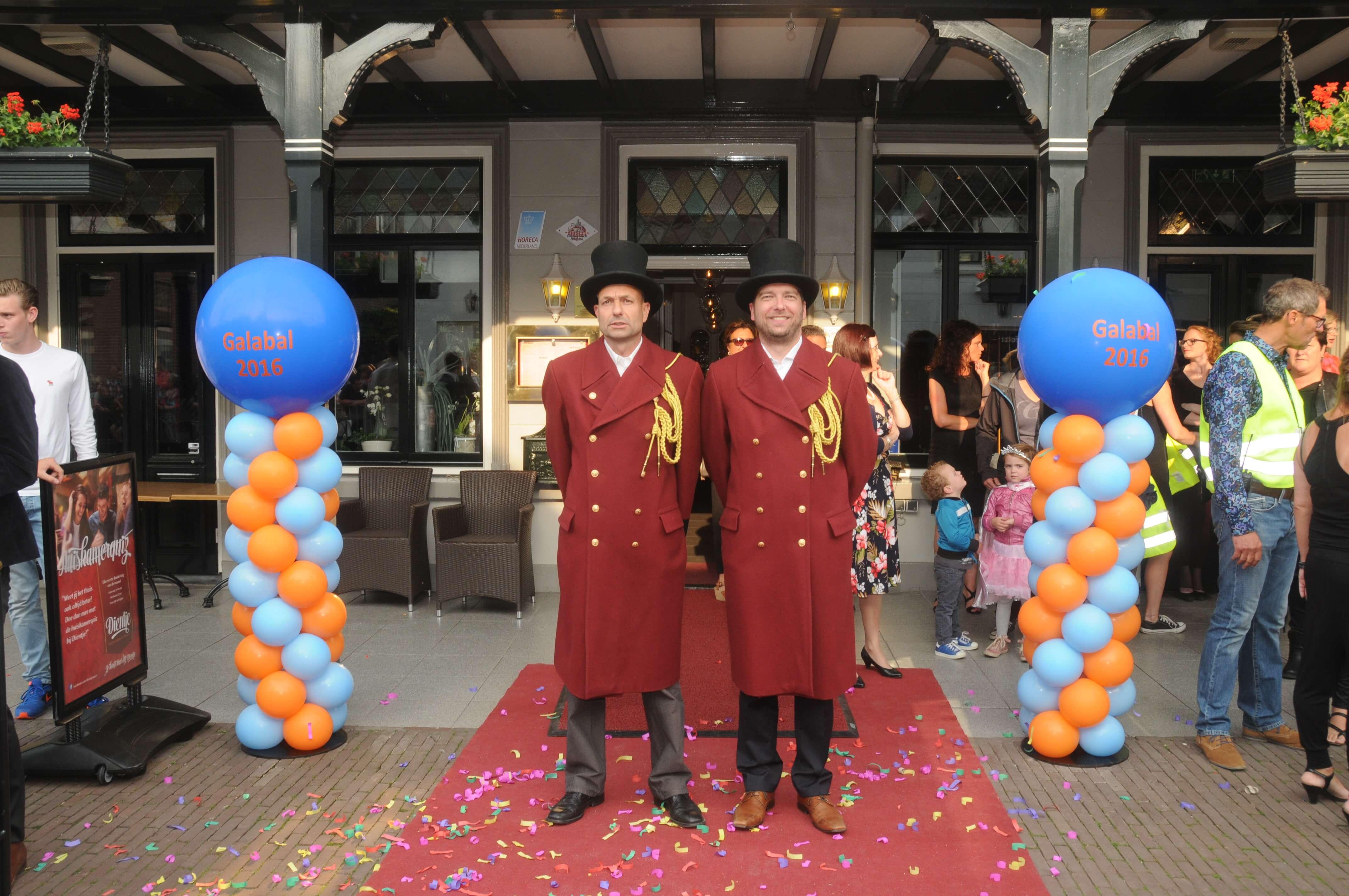 Ballonnen aankleding gala galabal Gemert